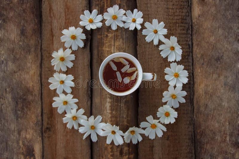 Prima colazione romantica rustica fotografia stock libera da diritti
