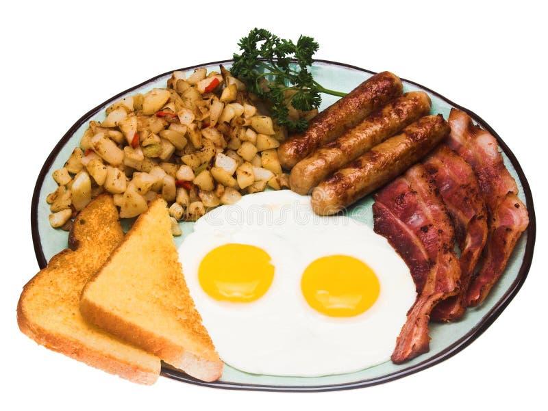 Prima colazione tradizionale fotografie stock