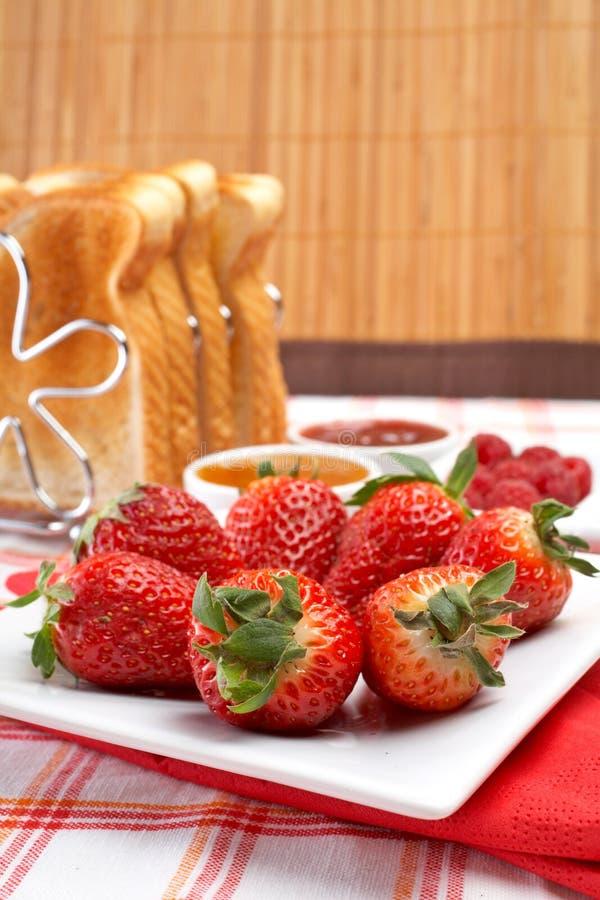 Prima colazione Yummy fotografia stock libera da diritti