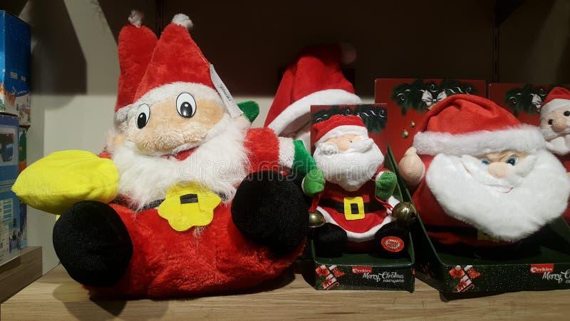 Prima di Natale la clausola 'Toy santa' immagini stock