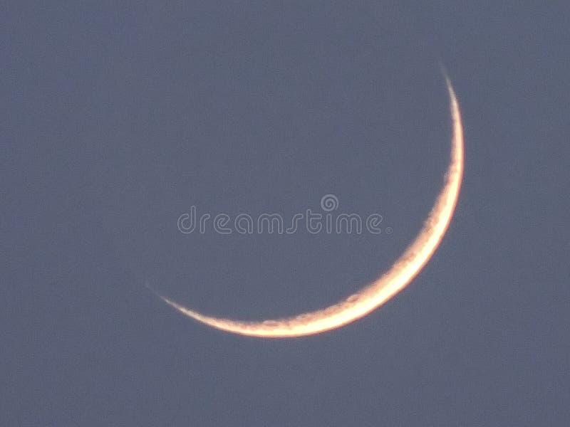 Prima luna immagini stock