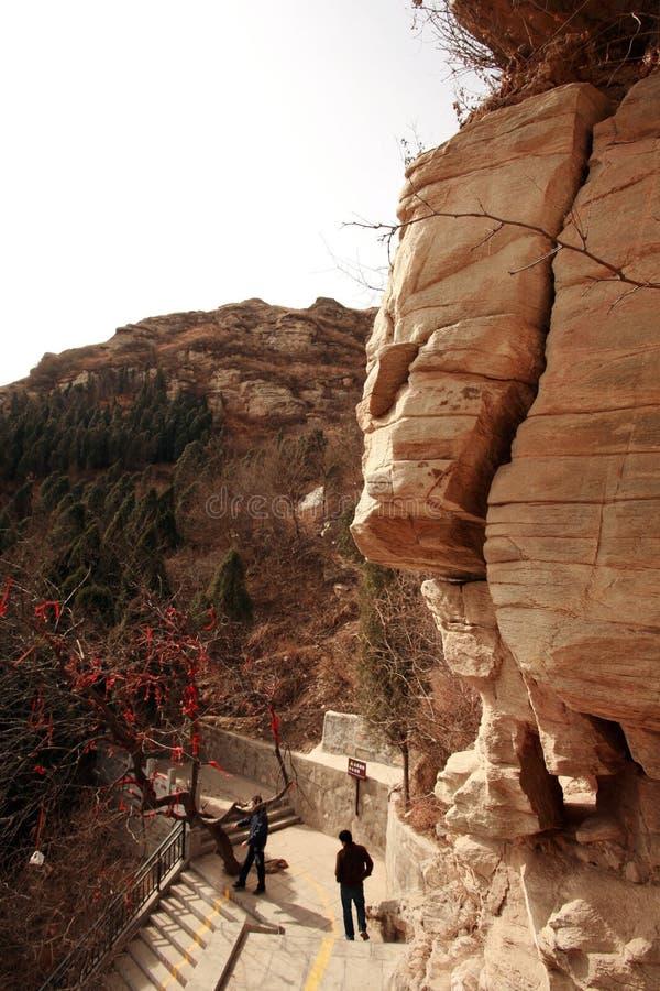 Prima montagna dell'antenato di Zhengzhou immagini stock libere da diritti