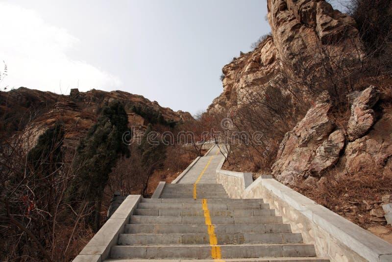 Prima montagna dell'antenato di Zhengzhou fotografia stock
