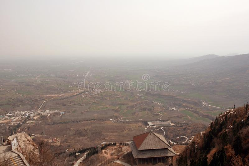 Prima montagna dell'antenato di Zhengzhou immagine stock libera da diritti