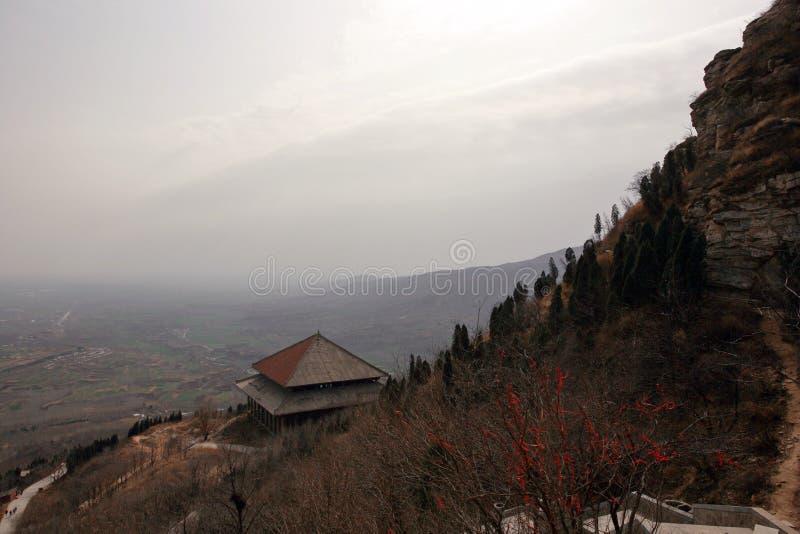 Prima montagna dell'antenato di Zhengzhou fotografia stock libera da diritti