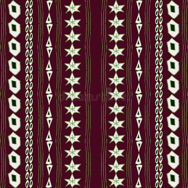 Primal seamless pattern vector illustration