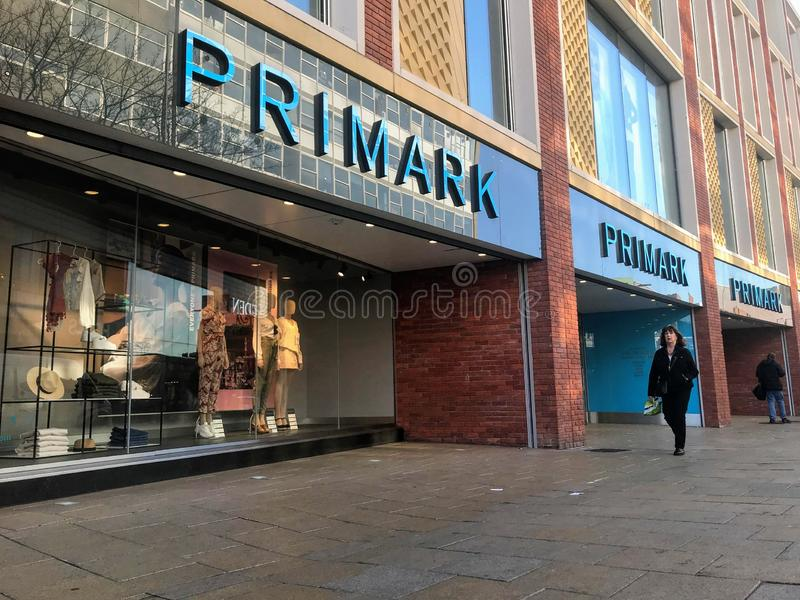 Primark store stock photography