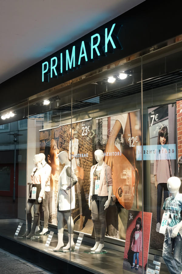 Outlet Hannover primark editorial stock image image of illuminated numbers 66473179