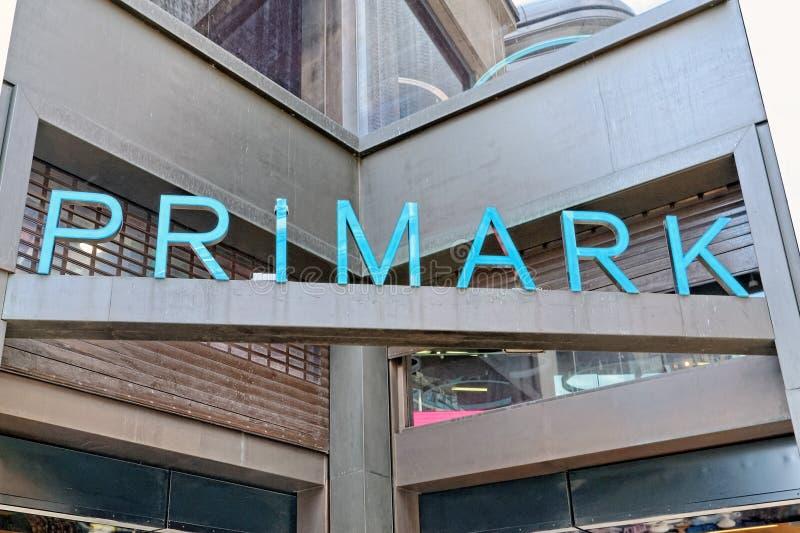 Primark store in London stock image