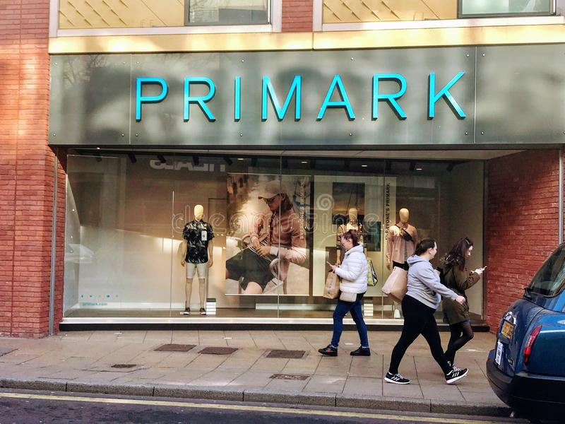 Primark store royalty free stock images