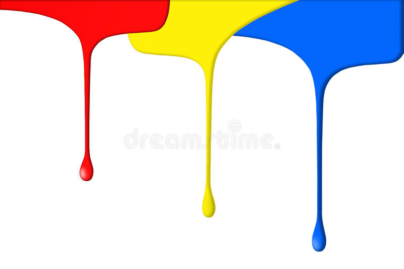 Download Primary colored paints stock illustration. Illustration of closeup - 11549531