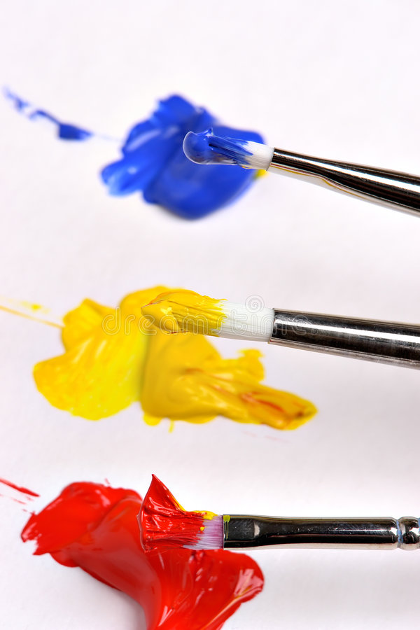 Free Primary Colors Royalty Free Stock Photography - 1564147