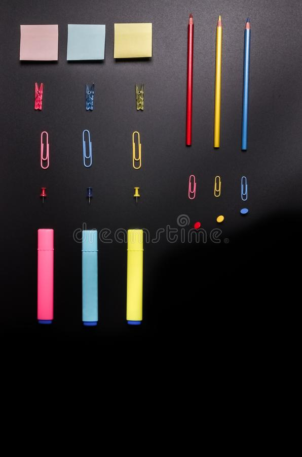 Download Primary colors stock photo. Image of background, crayons - 25151500