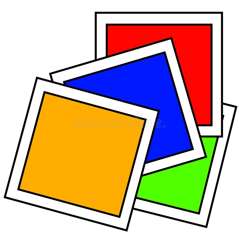 Download Primary Colors Paint Samples Stock Illustration - Image: 2759954
