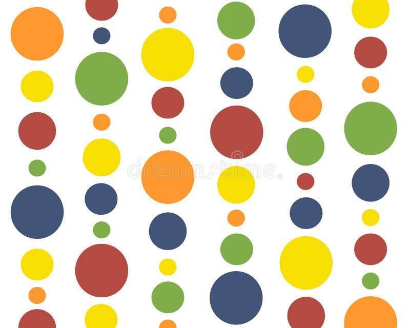 Download Primary colors polkadots stock illustration. Illustration of retro - 5471038
