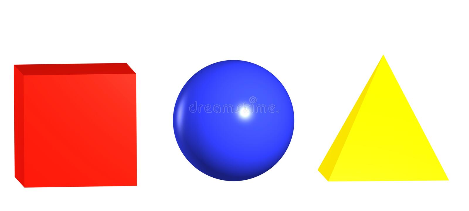 Primary Colours and Shapes