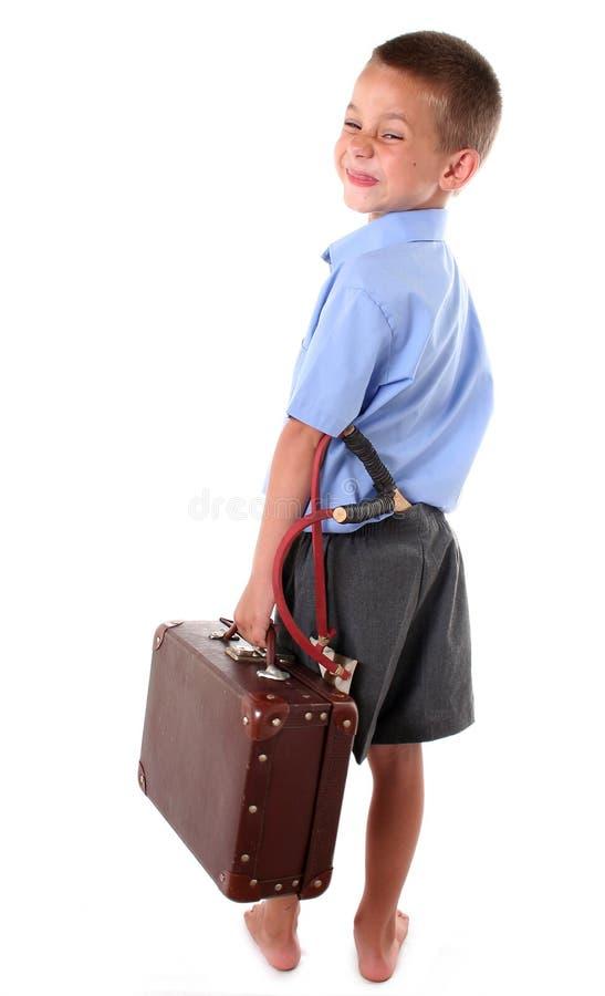 Primary school boy royalty free stock image