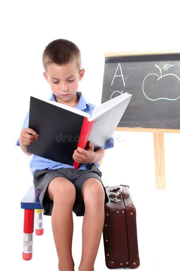 Primary school boy royalty free stock photography
