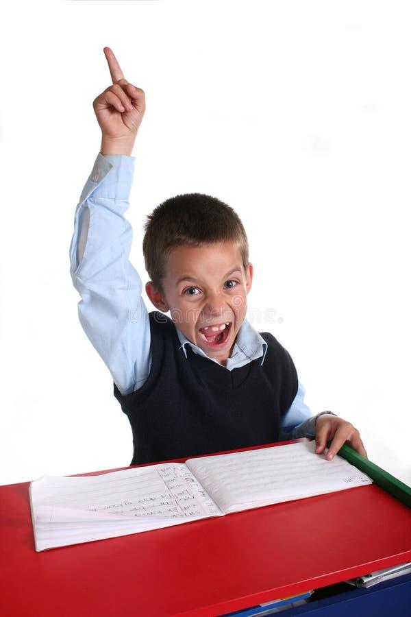 Primary School boy stock images
