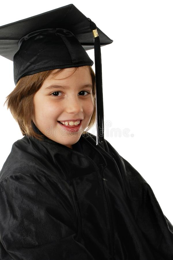 Primary School Graduate stock image