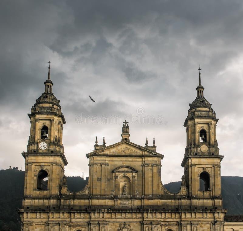 Primas-Kathedrale, Bogota, Kolumbien stockfoto
