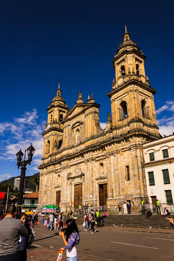 Primata da catedral de Colômbia fotos de stock royalty free