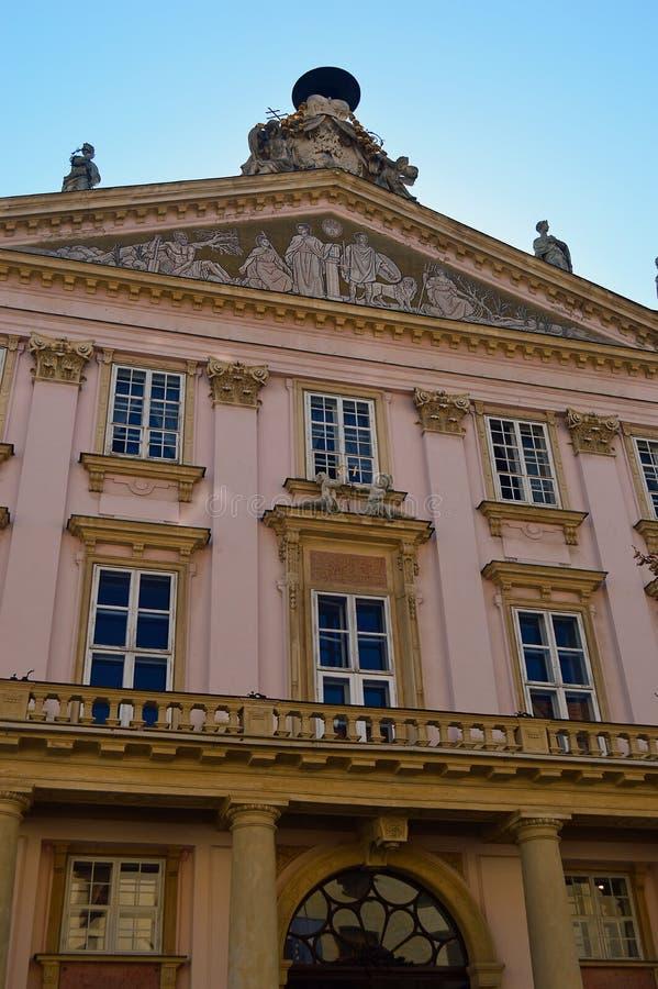 Primaten slott, Bratislava, Slovakien arkivfoto