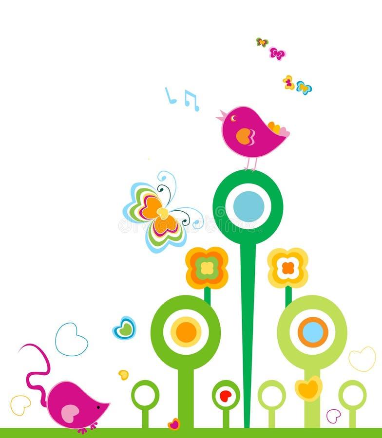 Primavera royalty illustrazione gratis