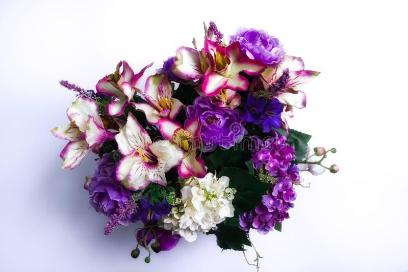 Primavera benvenuta - mazzo di fiori della primavera fotografia stock libera da diritti