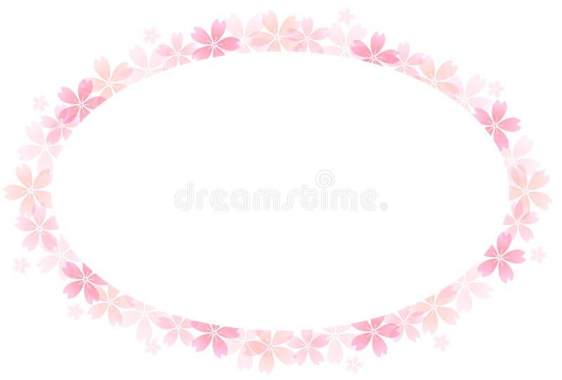 Primavera Cherry Blossom Background royalty illustrazione gratis