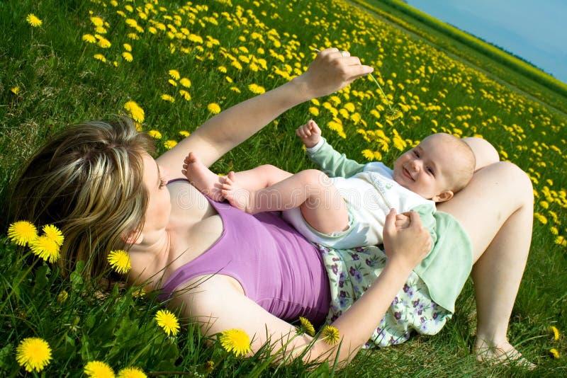 Primavera con il bambino