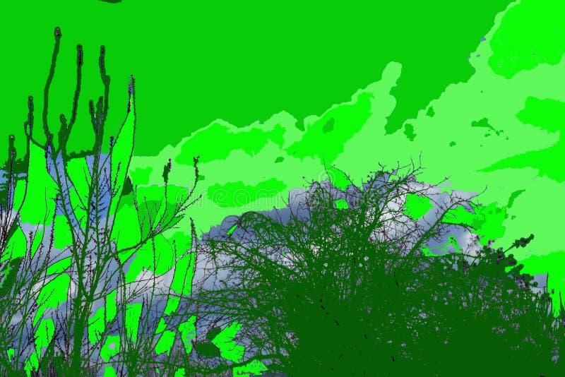 Primavera in cui le fioriture del fiore dell'albicocca nei vostri occhi illustrazione di stock