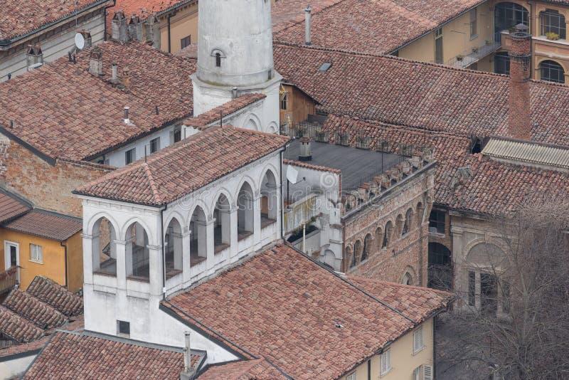 primavera da cidade de Cremona imagens de stock