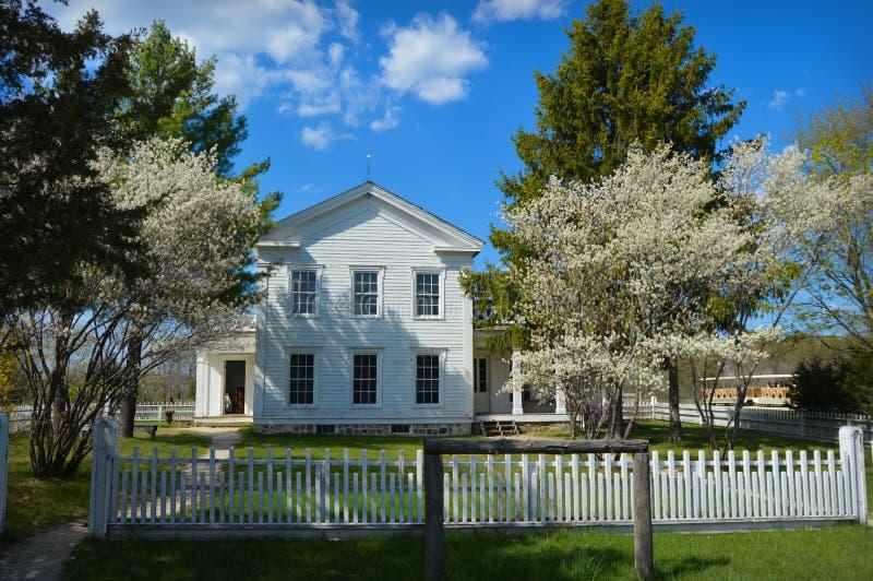 Primavera de la Casa Blanca imagen de archivo libre de regalías
