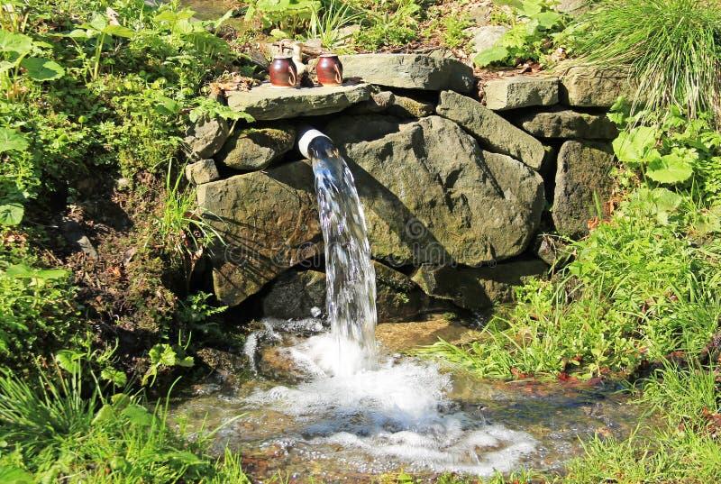 Primavera del agua fotografía de archivo