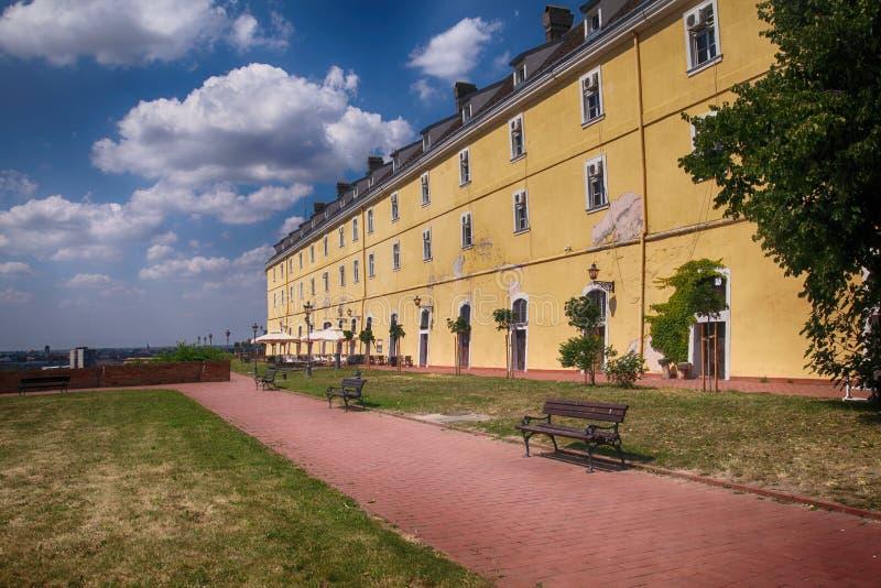 Primavera della fortezza di Petrovaradin fotografia stock