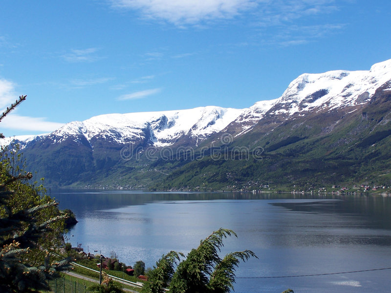 Primavera em Hardanger 2 foto de stock royalty free