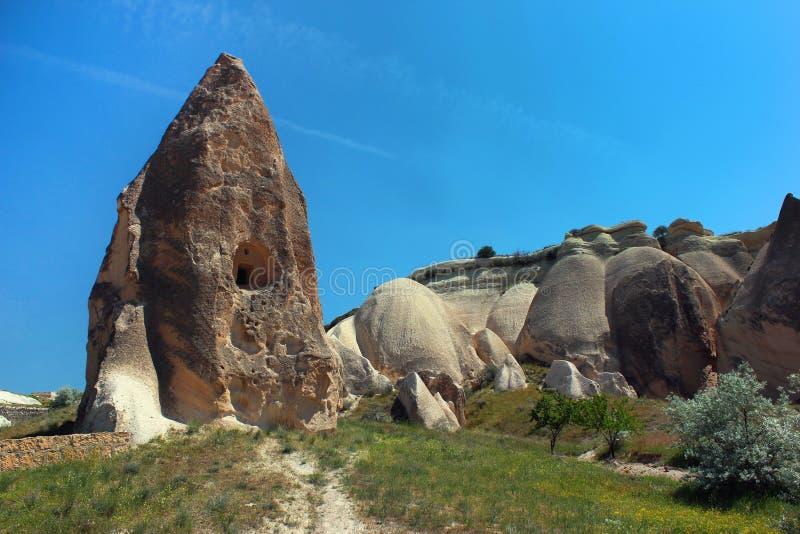 primavera em Rose Valley Cappadocia, Turquia central imagem de stock royalty free