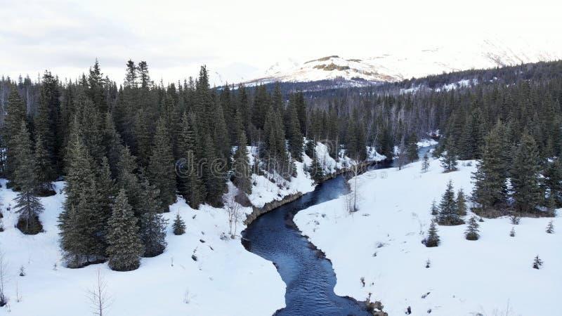 Primavera en las monta?as de Alaska imágenes de archivo libres de regalías