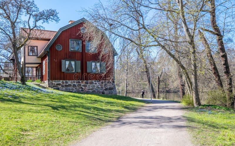 Primavera en Norrköping, Suecia foto de archivo libre de regalías