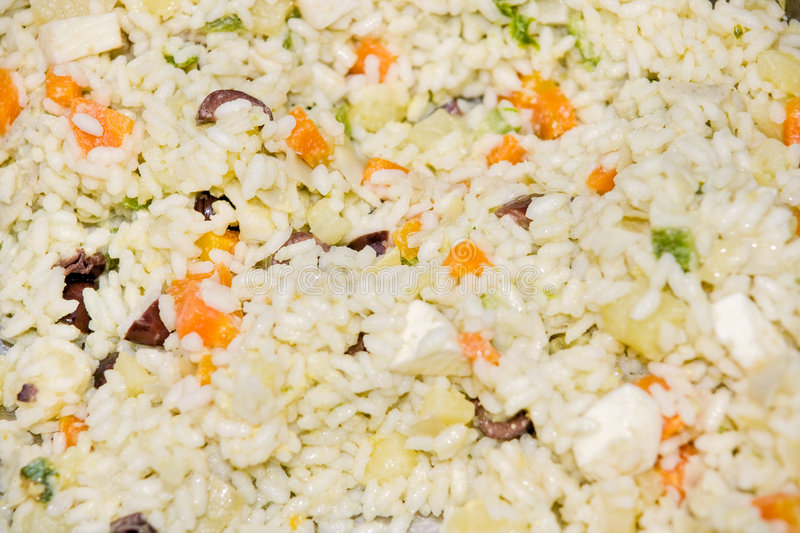 Primavera Rice. (Rice with vegetables, eggs and ch