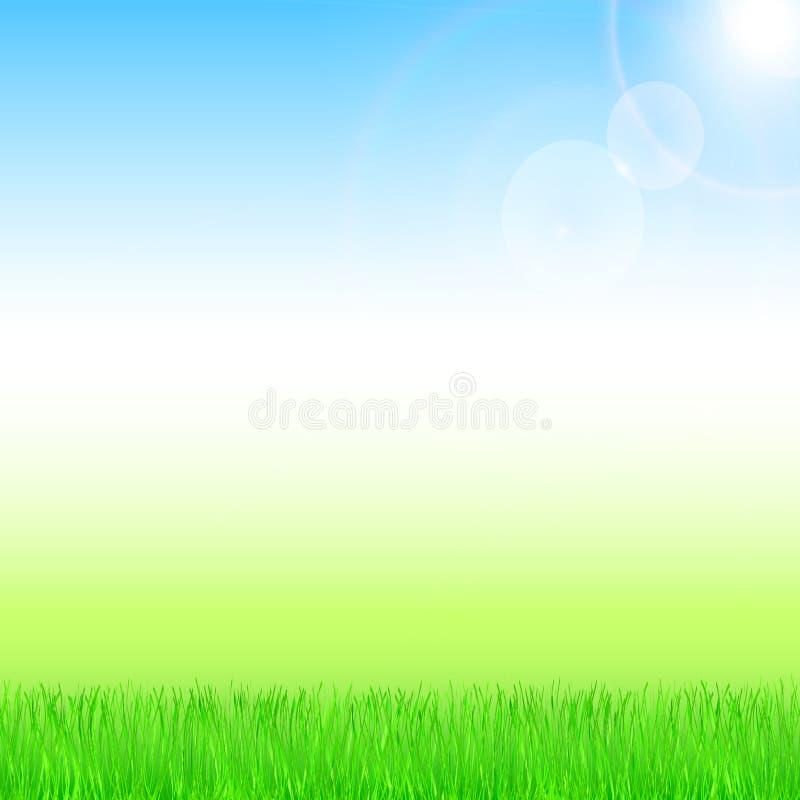 Primavera y fondo del verano imagen de archivo