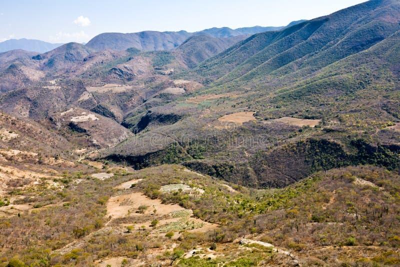 Primaveras minerales - destino turístico famoso, Oaxaca, México fotografía de archivo libre de regalías