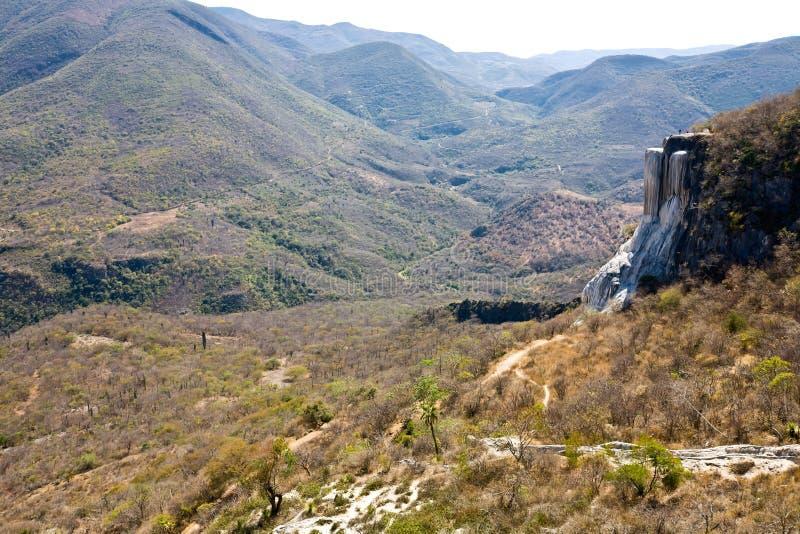 Primaveras minerales - destino turístico famoso, Oaxaca, México imágenes de archivo libres de regalías