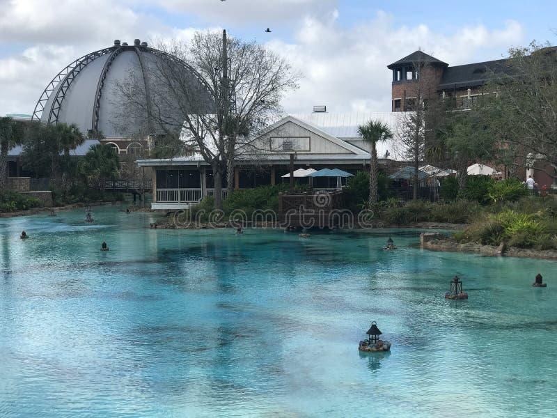 Primavere di Disney, Orlando, Florida fotografie stock libere da diritti
