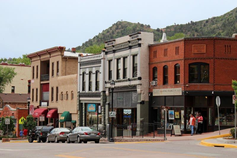Primavere di Manitou, Colorado fotografia stock libera da diritti