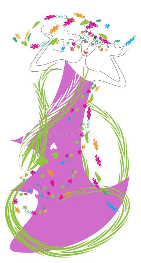 Download Prime stock illustration. Illustration of fairy, lianas - 19209008