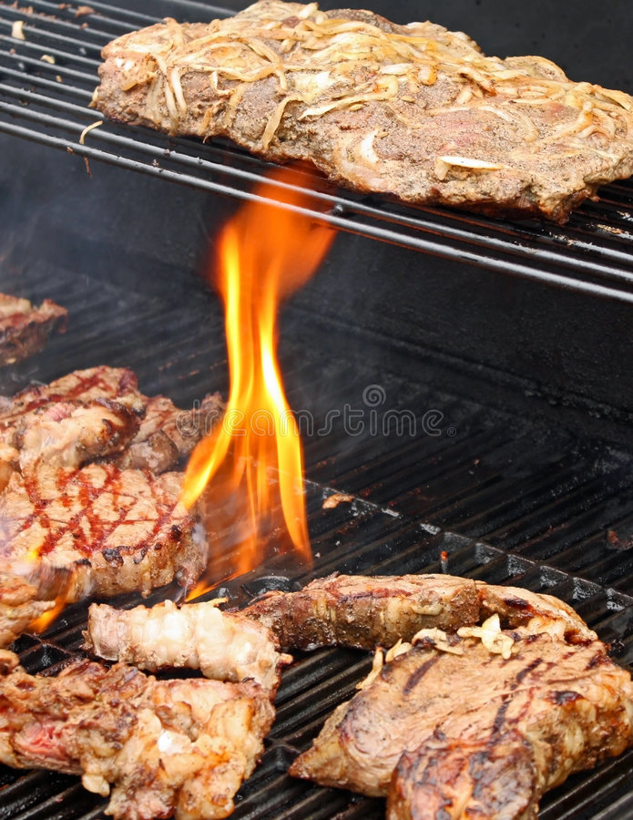 Download Prime Roast Steak and Ribs stock image. Image of heat - 7581019