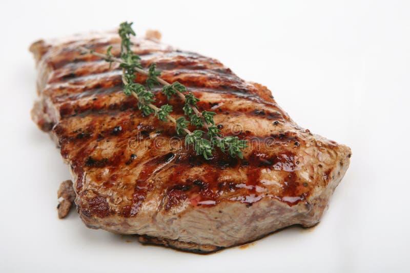 Prime Sirloin Steak stock photos