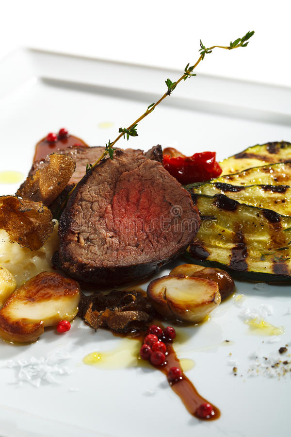 Download Prime Veal stock image. Image of luxury, beef, courgette - 11920585